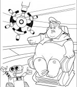 coloriage wall-e 044