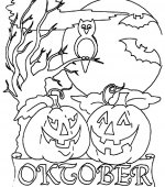coloriage halloween 003