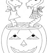 coloriage halloween 014
