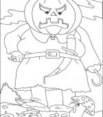 coloriage halloween 029