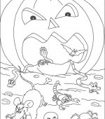 coloriage halloween 030