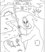 coloriage halloween 033