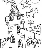 coloriage halloween 037