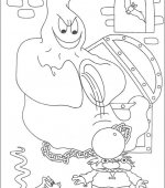 coloriage halloween 038