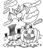 coloriage halloween 039