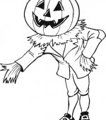 coloriage halloween 043