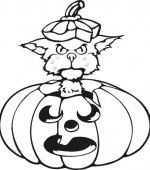 coloriage halloween 044