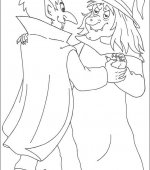 coloriage halloween 046