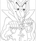 coloriage halloween 048