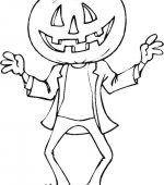coloriage halloween 049