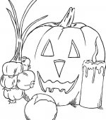coloriage halloween 050