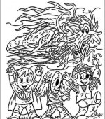 coloriage halloween 055
