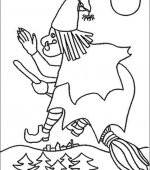 coloriage halloween 059