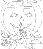 coloriage halloween 061
