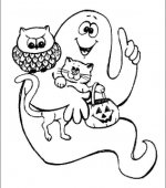 coloriage halloween 068