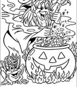 coloriage halloween 081