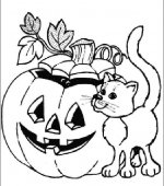 coloriage halloween 087
