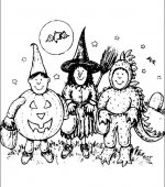 coloriage halloween 096