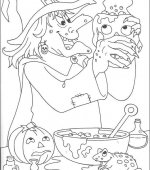 coloriage halloween 097