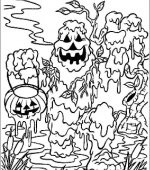 coloriage halloween 099
