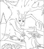 coloriage halloween 110
