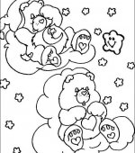 coloriage Bisounours 004