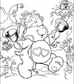 coloriage Bisounours 008