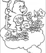 coloriage Bisounours 011