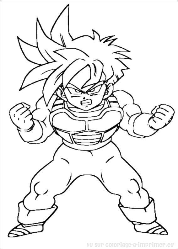Coloriage A Imprimer Coloriage Dragon Ball Z 026