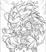 coloriage Dragon Ball Z 004