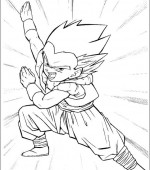 coloriage Dragon Ball Z 006