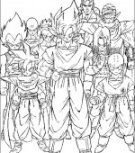 coloriage Dragon Ball Z 007