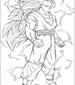 coloriage Dragon Ball Z 008