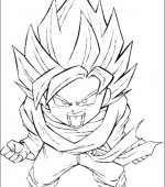 coloriage Dragon Ball Z 009
