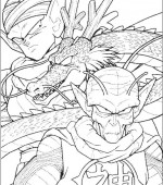 coloriage Dragon Ball Z 010