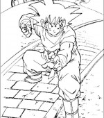 coloriage Dragon Ball Z 014