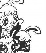 coloriage Littlest Pet Shop 001