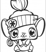 coloriage Littlest Pet Shop 002