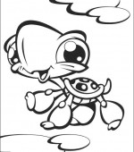coloriage Littlest Pet Shop 006