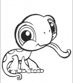 coloriage Littlest Pet Shop 008