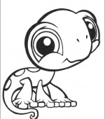 coloriage Littlest Pet Shop 009