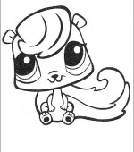 coloriage Littlest Pet Shop 012
