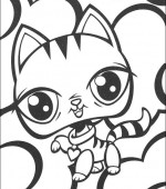 coloriage Littlest Pet Shop 013