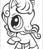 coloriage Littlest Pet Shop 014