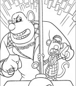 coloriage Souris City 006