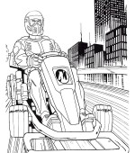 coloriage action man 005