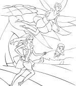 coloriage barbie fairytopia 007