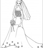 coloriage barbie 014