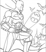 coloriage batman 010