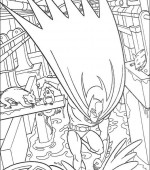 coloriage batman 014